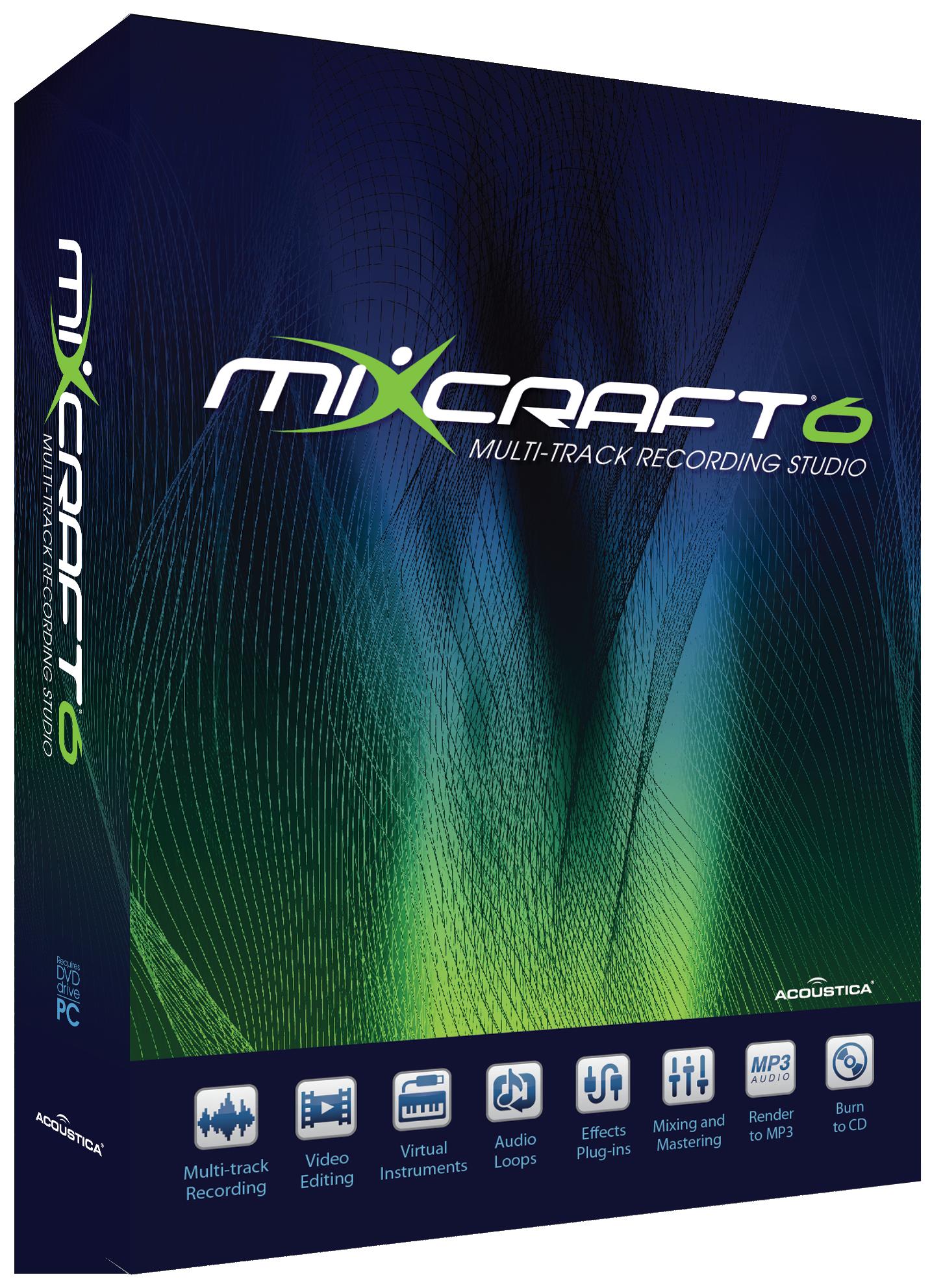 Mixcraft 6.1