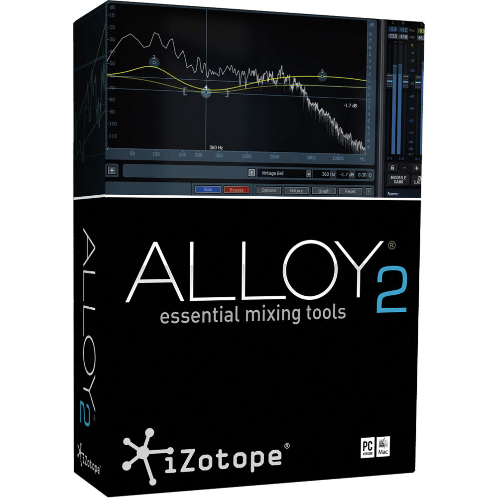 Izotope ALLOY 2.02 Vst Rtas Aax – PC