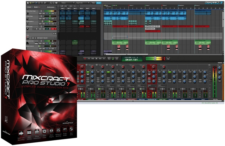 Mixcraft Pro Studio 7.7