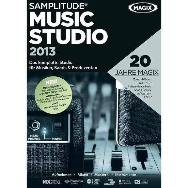Magic Samplitude Music Studio 2013 v19.0.1.18 – WINDOWS