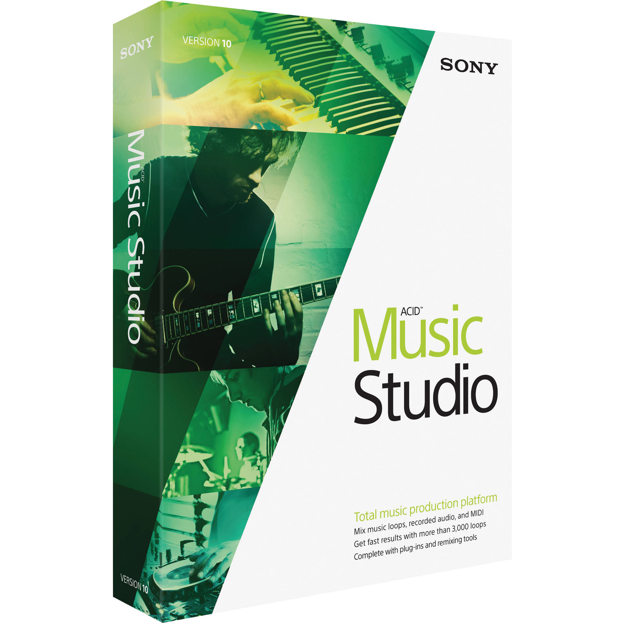 Sony Acid Music Studio v10 – PC WINDOWS