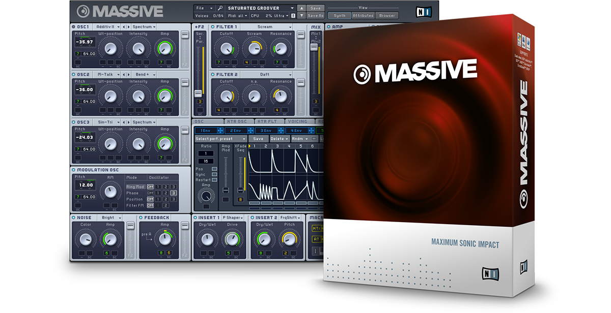 Native Instruments Massive STANDALONE VSTi RTAS
