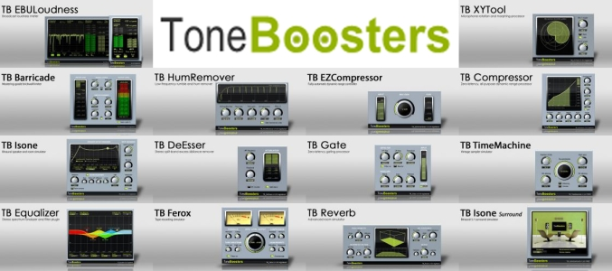 ToneBoosters All Plugins Bundle VST x MAC