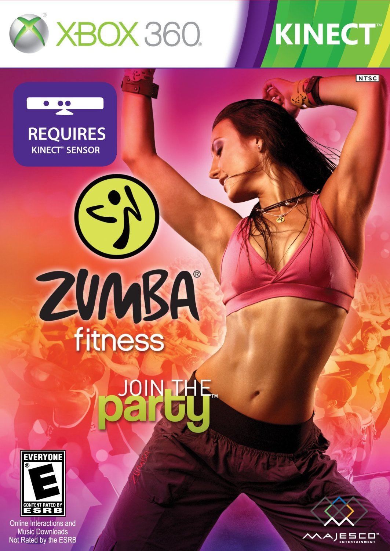 Zumba Fitness 2010 Xbox 360 kinect