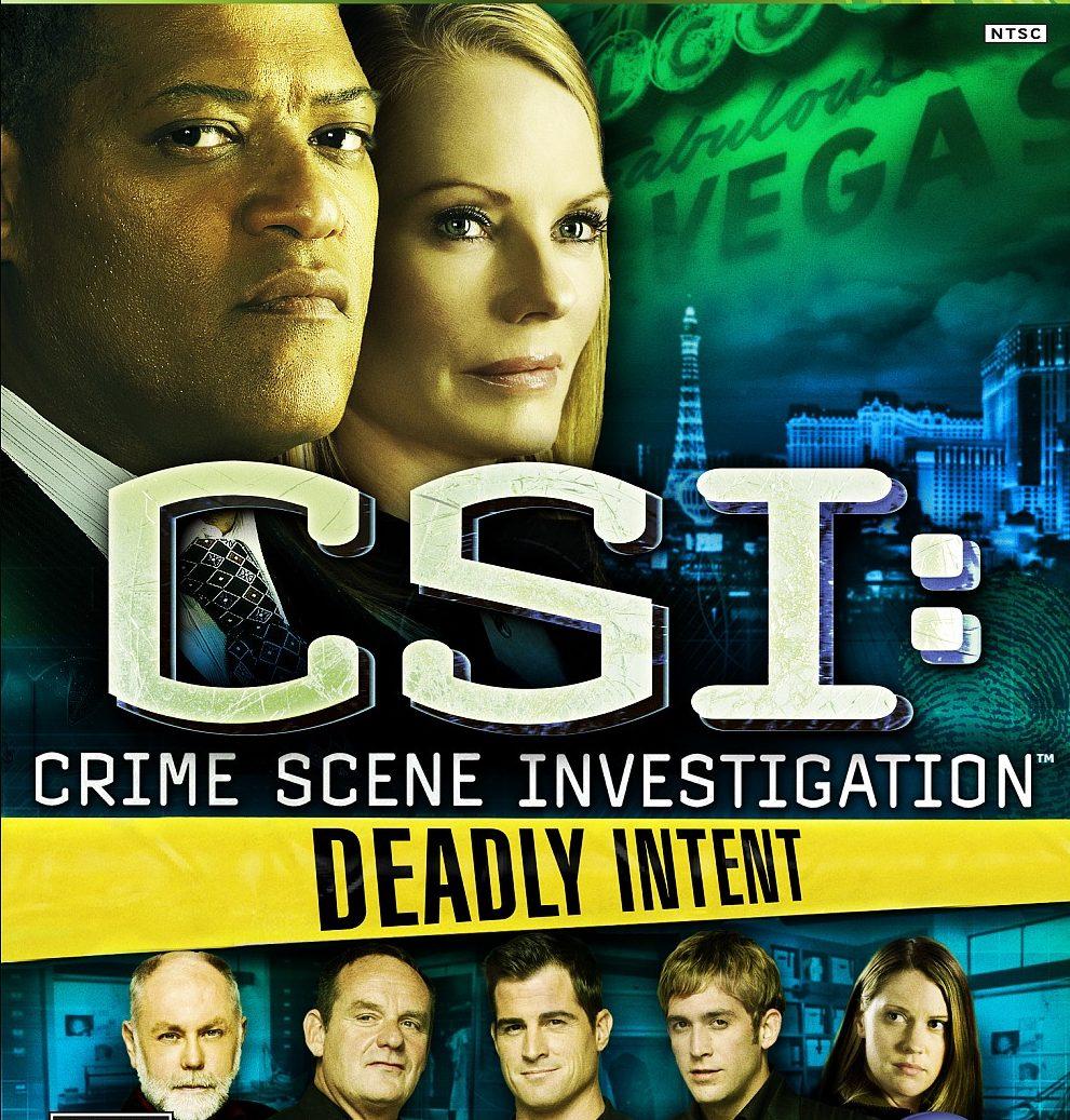 CSI Deadly Intent – XBOX 360