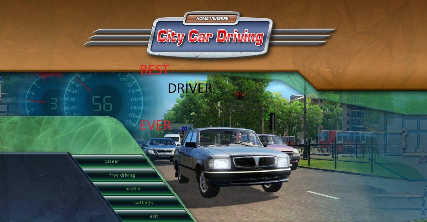 City Car Driving Home Edition v1.4.1 – PC