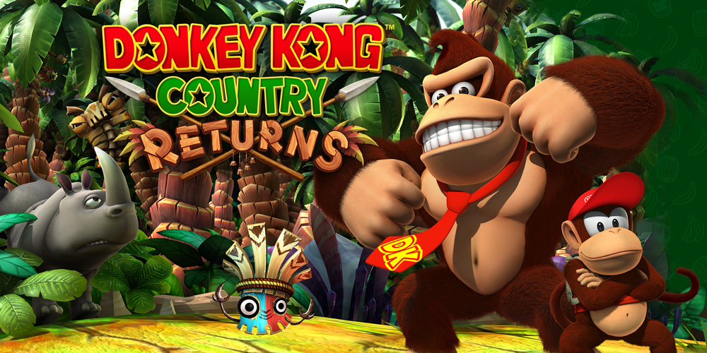 Donkey Kong Country Returns – Wii