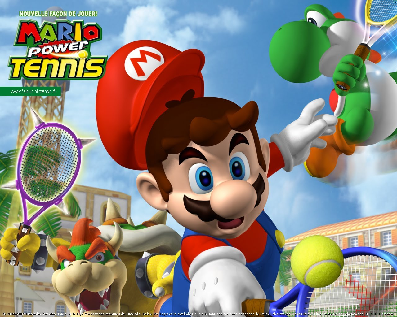 Mario Power Tennis – Wii