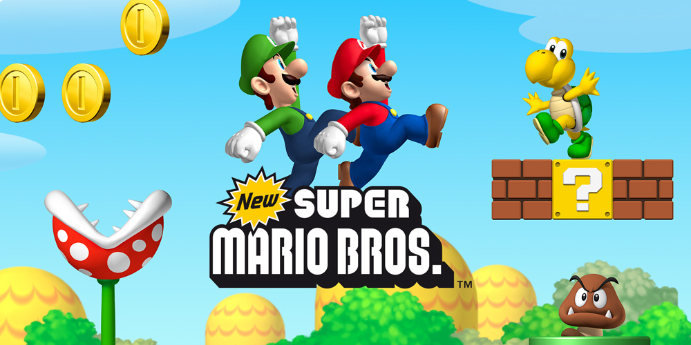 New Super Mario Bros – Wii