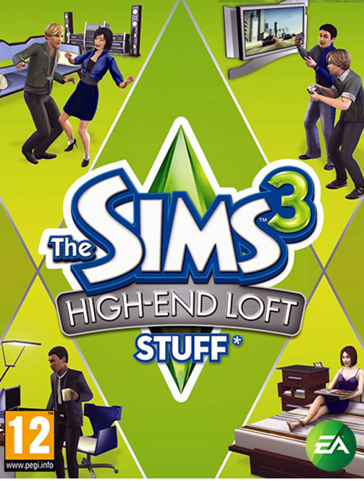 The Sims 3 High End Loft Stuff – PC