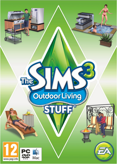 The Sims 3 – Outdoor Living Stuff – PC