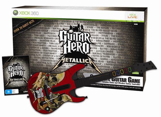 Guitar Hero Metallica – Xbox 360