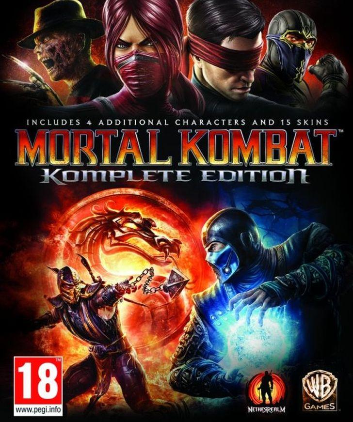 Mortal Kombat Komplete edition – XBOX 360