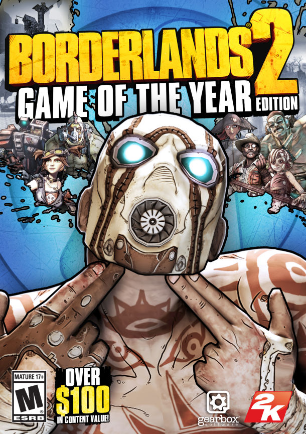Borderlands 2 Game of the Year Edition – XBOX 360