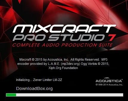 Mixcraft Pro Studio 7.1 b273