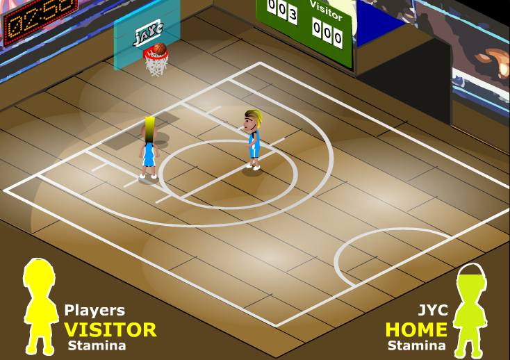 Court Basketball – ONLINE