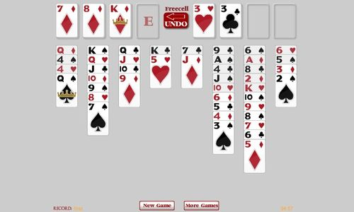 FreeCell Grey – ONLINE