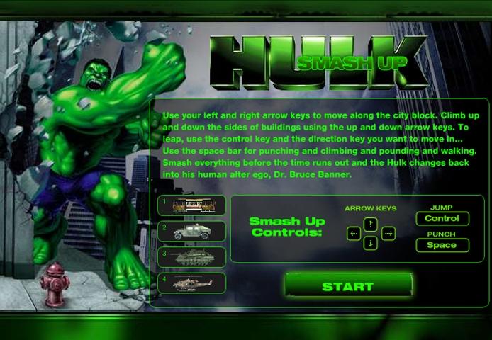 Hulk Smash Up – ONLINE