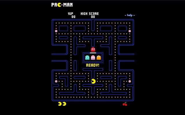 Pacman – ONLINE