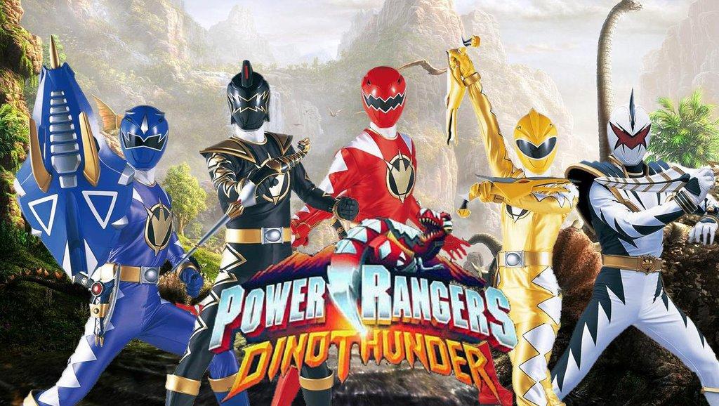 Power Rangers Dino Thunder – ONLINE