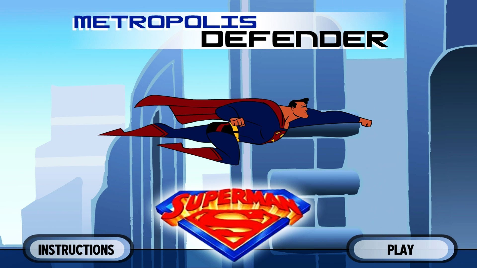 Superman Metropolis Defender – ONLINE