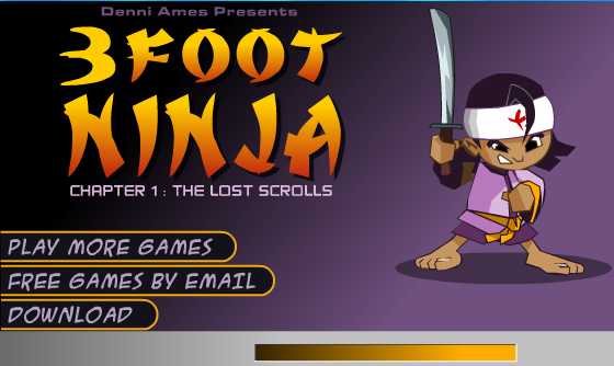 Play 3 Foot Ninja – ONLINE
