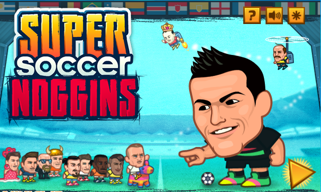 Play Super Soccer Noggins – ONLINE