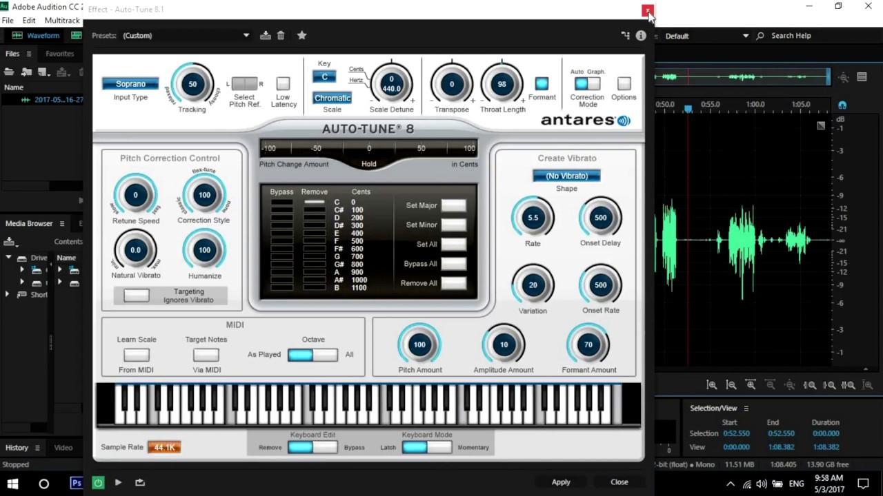 Auto Tune v.8.1.1 VST3 – WINDOWS