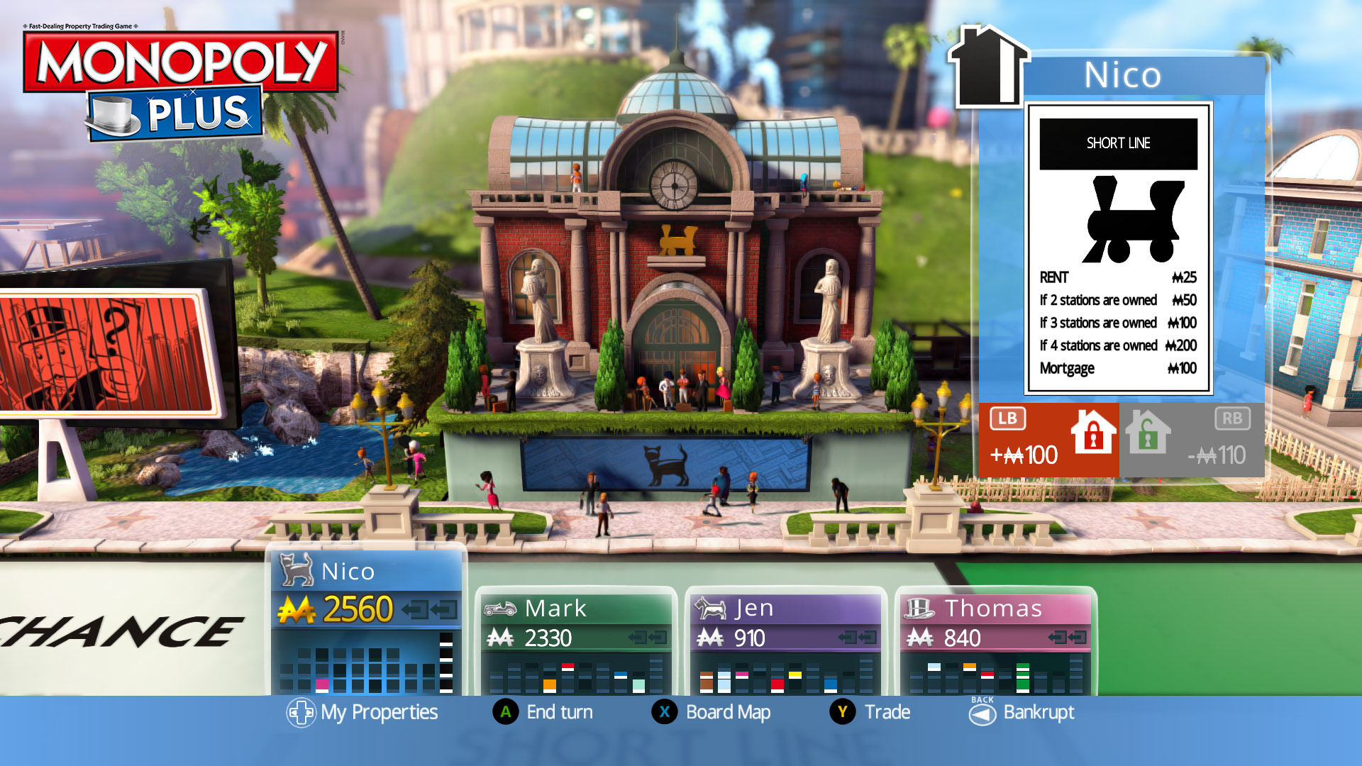 Monopoly Plus + Update v1.0.3 – PC