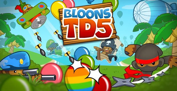 Bloons TD 5 HD v3.10 – IOS (iPad/iPhone)