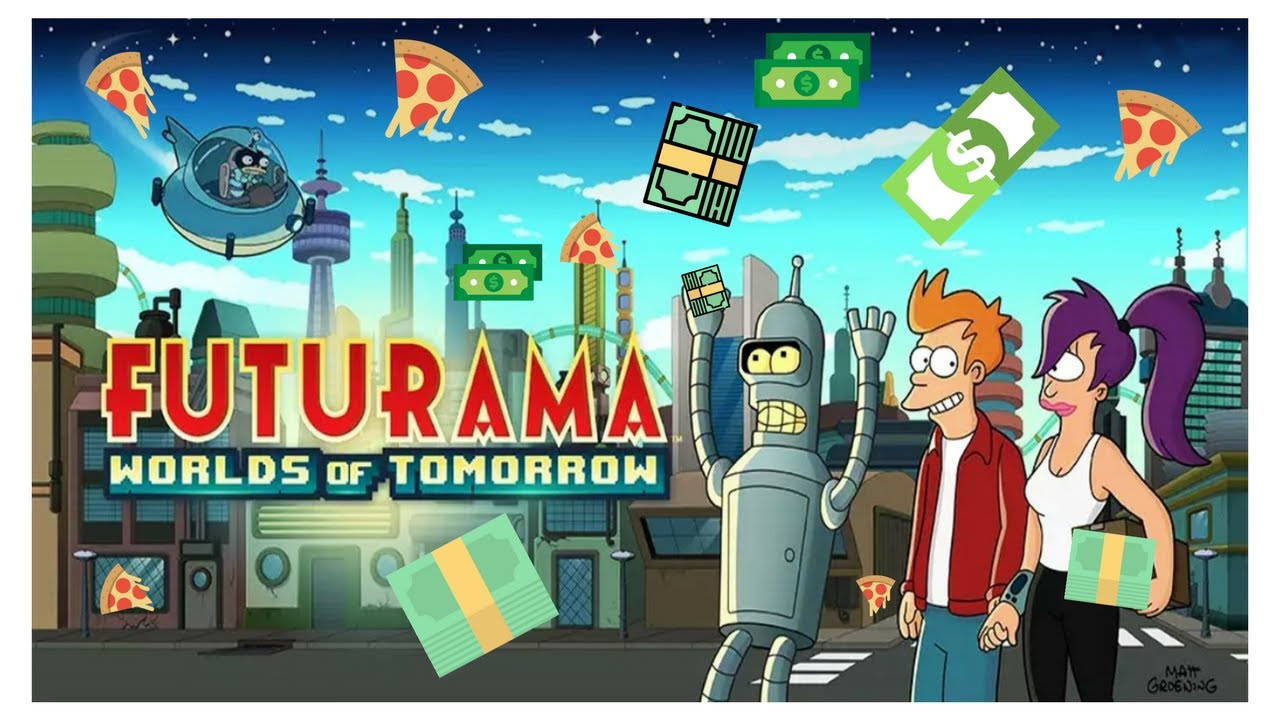 Futurama Worlds of Tomorrow v1.3.0 – IOS (iPad/iPhone)