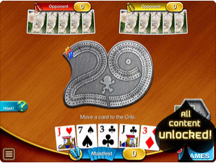 Cribbage HD v3.6.1 – IOS (iPad/iPhone)