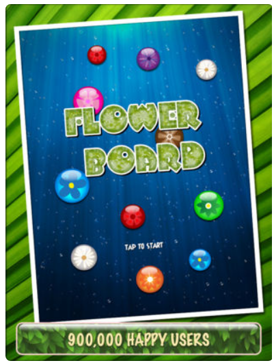 Flower Board HD – Un puzzle game rilassante v1.4 – IOS (iPad/iPhone)