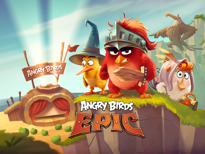 Angry Birds Epic RPG v2.4.0 – IOS (iPad/iPhone)