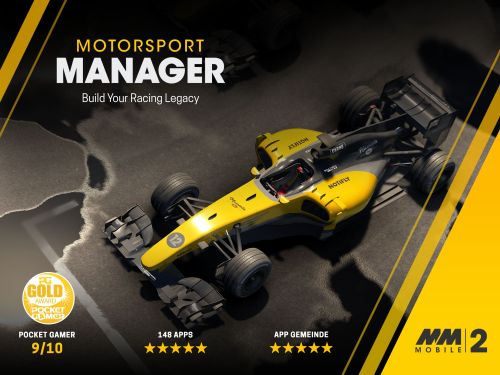 Motorsport Manager Mobile 2 v1.1.0 – IOS (iPad/iPhone)