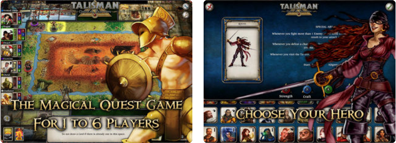 Talisman v14 – IOS (iPad/iPhone)