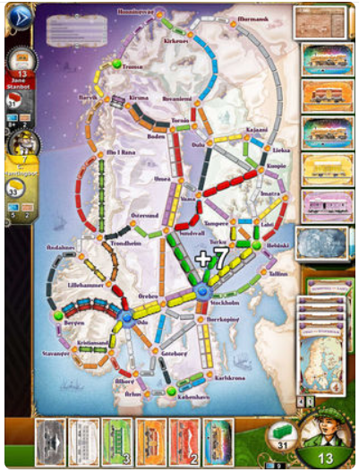 Ticket to Ride v2.4.2 – IOS (iPad/iPhone)