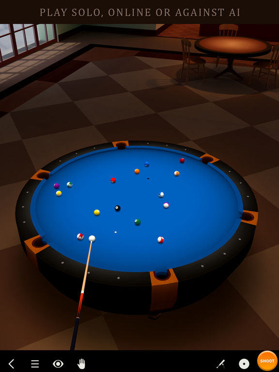 Pool Break 3D Billiards 8 Ball, 9 Ball, Snooker – IOS (iPad/iPhone)