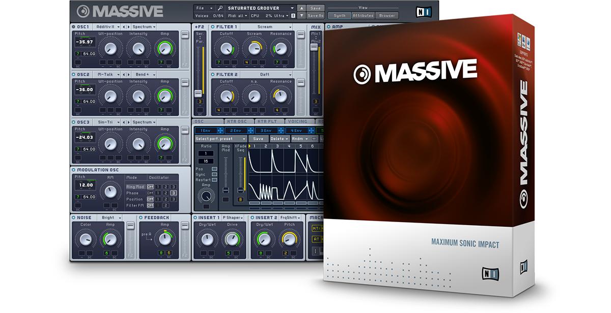 Native Instruments Massive STANDALONE – MAC