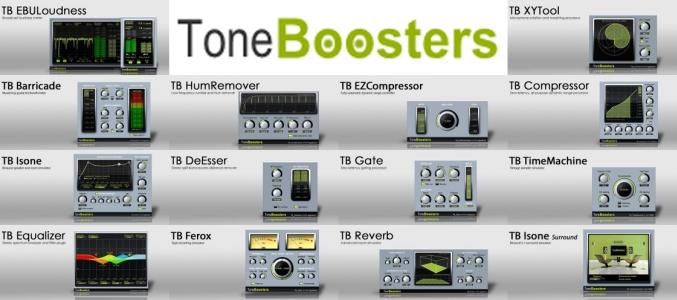 ToneBoosters All Plugins Bundle VST x MAC