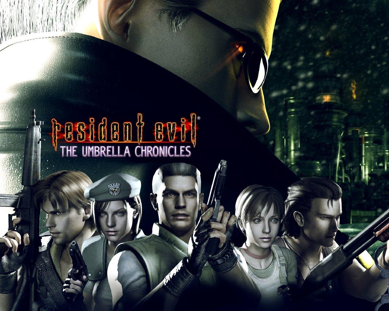 Resident Evil The Umbrella Chronicles – Wii