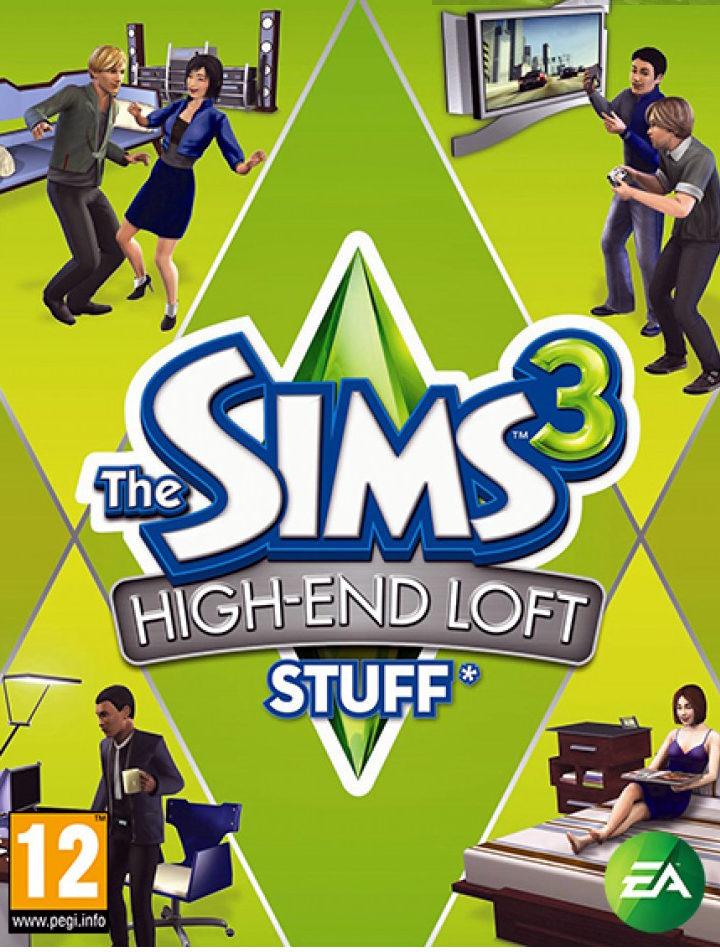 The Sims 3 High End Loft Stuff – PC
