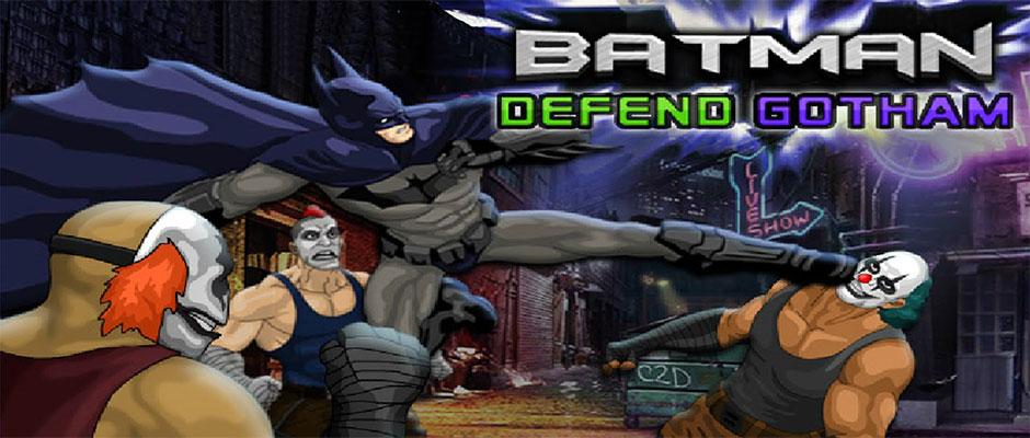 Batman Defend Gotham – ONLINE