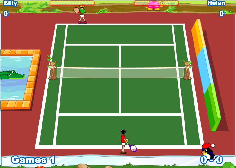 Twisted Tennis – ONLINE