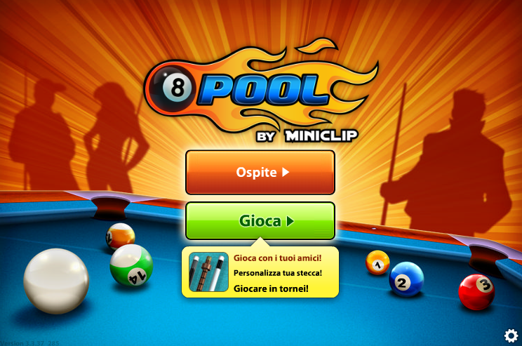 Play 8 Ball Pool – ONLINE