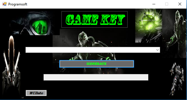 Game KEY – KEYGEN