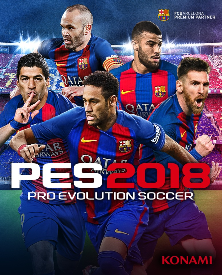 Pro Evolution Soccer 2018 – XBOX ONE
