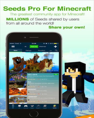 Seeds Pro For Minecraft v8.0.4 – Server, Skins, Community – IOS (iPad/iPhone)