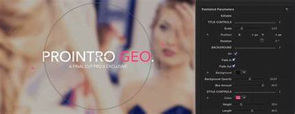 Pixel Film Studios – ProIntro Geometric 1.1 – MacOS