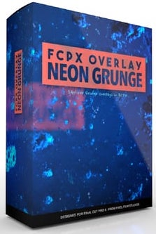 Pixel Film Studios – Neon Grunge Overlay – MAC